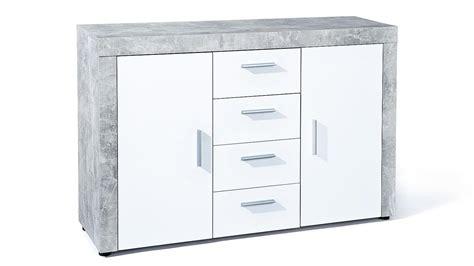kommode mit türen und schubladen kommode betonoptik bestseller shop f 252 r m 246 bel und
