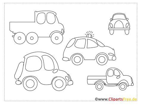 Ausmalbilder F R Kinder Autos by Einfache Ausmalbilder Zum Malen F 252 R Kinder Autos