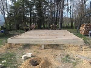 cabin foundation small cabin forum