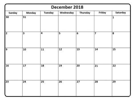 a4 printable december calendar december 2018 calendar a4 calendar template letter