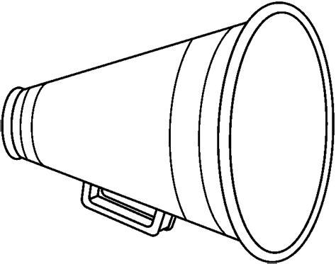 megaphone art cliparts co