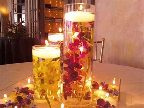 adornos de mesa para bodas con velas centros de mesa para boda con velas