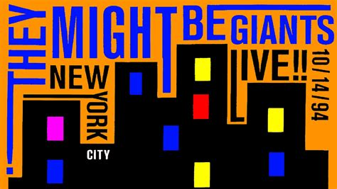 new york city live they might be giants live new york city 10 14 94
