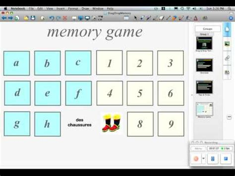 Drag Drop Templates Memory Game Youtube Memory Template Powerpoint