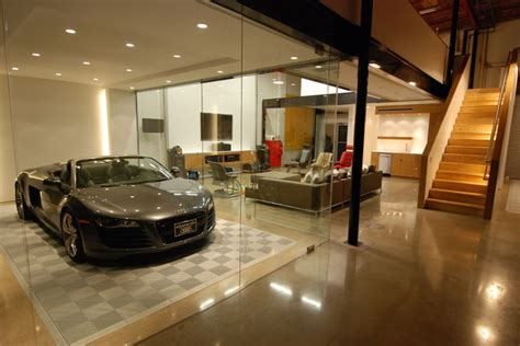 Ultimate Man Cave   Contemporary   Garage And Shed