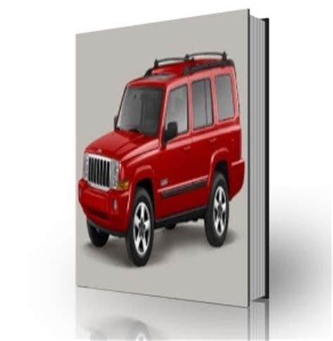 vehicle repair manual 2007 jeep commander parking system jeep commander xk 2007 service manual