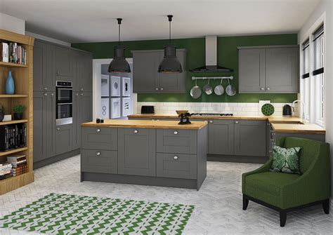 Ordinary Cabinet Styles For Kitchen #8: Winchester_Grey.jpg