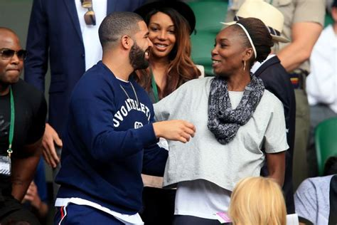 serena williams karaoke aint my thing but my sisters are drake and serena williams dating rapper spotted