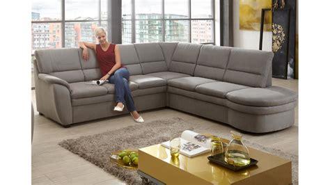 sofa mit ottomane rechts und links ecksofa grau ottomane rechts 3 sitzer links federkern