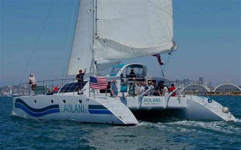 catamaran cost new san diego private yacht rental boat charter aolani