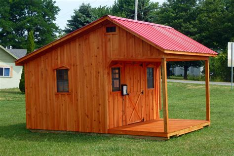 Gambrel Garage by Fred S Sheds Llc Custom Amish Sheds Amp Other Outdoor