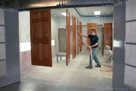 woodworking spray booth technique spraying shellac woodworking stack exchange