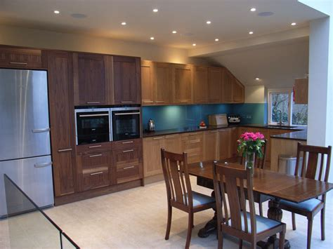 walnut kitchen and dining room extension kitchen glass extension and basement conversion in bath style within
