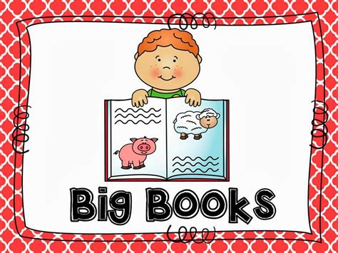 big book of pictures mrs jump s class literacy centers part three big book