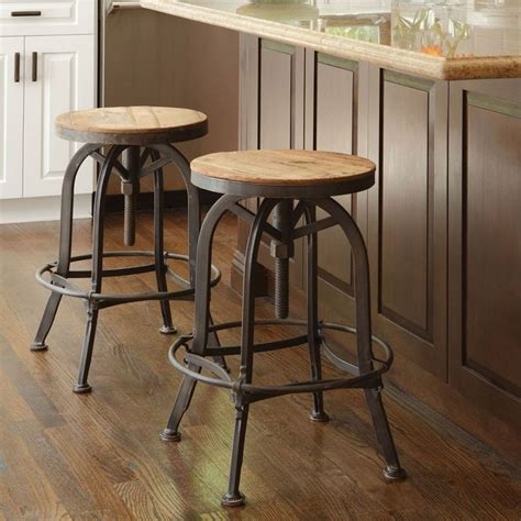 Akron Adjustable Height Bar Stool by 25 Best Ideas About Kitchen Counter Stools On