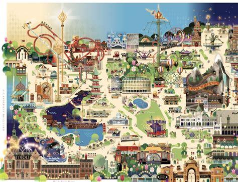 tivoli garden plan les parcs d attractions