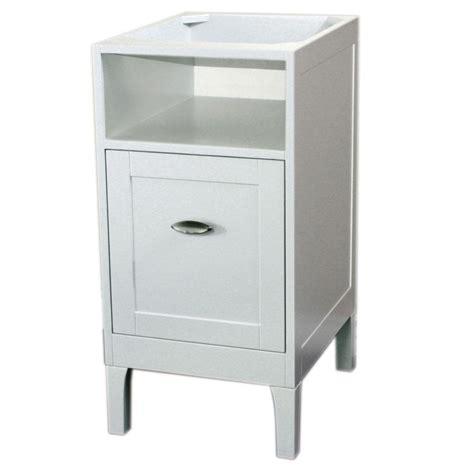 Home Depot In Kent by Bellaterra Home Kent 16 In W X 20 In D Vanity Cabinet In