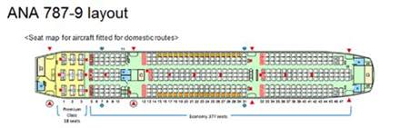 reveals 787 9 layout 395 seats civil aviation