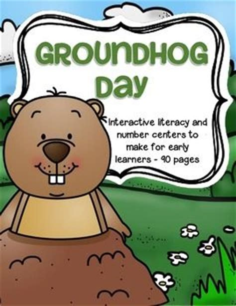 groundhog day number of days 17 best images about pre k k groundhog day on