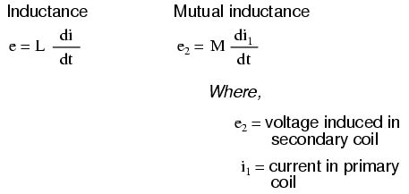 inductor current voltage equation lessons in electric circuits volume ii ac chapter 9