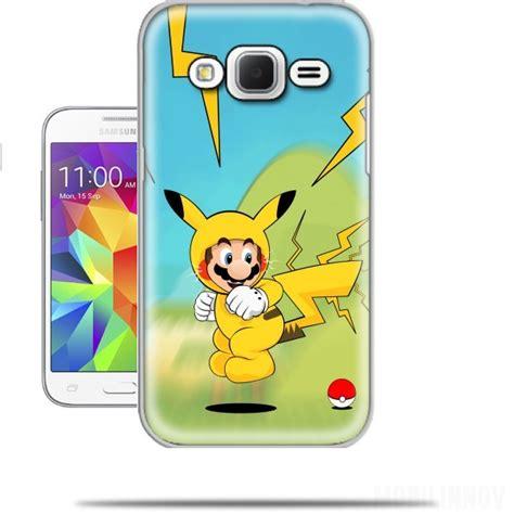 Casing Samsung C5 Pikachu Custom Hardcase mario mashup pikachu impact hoo samsung galaxy prime wallet