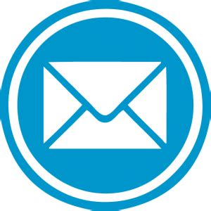 blue mail icon   U Name It! Creative Services