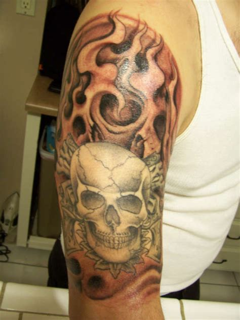 cross tattoo add ons add on to skull and cross pistols