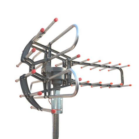 Antena Tv Fm Mobil Connect 2 practical 150 outdoor lified hd tv antenna high gain 22 38db uhf vhf fm