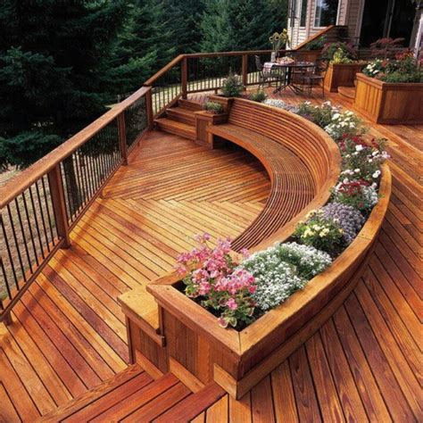 backyard deck designs pictures the most of your backyard deck