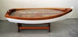 Boat Coffee Table 218 Boat Coffee Table Lot 218