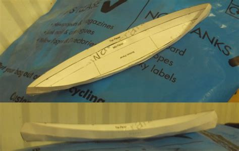 How To Make A Paper Kayak - design and build proper looking canoe