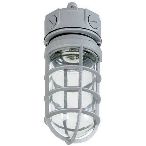 Vapor Tight Light Fixtures Juno Lighting Vw100g Vapourlume Acculite Enclosed And Gasketed Vapor Tight Light Fixture 100