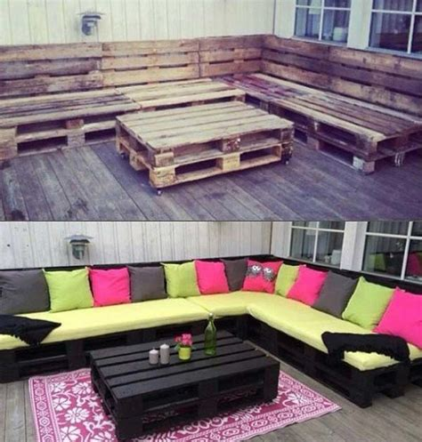 pallet backyard furniture top 38 genius diy outdoor pallet furniture designs that