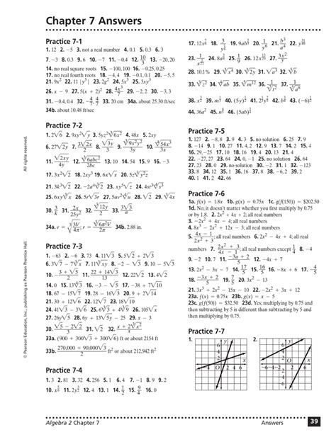 Chapter 7 Answers Practice 7 1 1 2