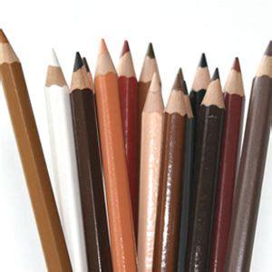 skin color pencils pencils colored pencils to represent human skin