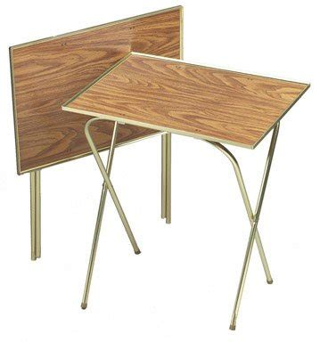 the tv trays new honey oak tv tray serving table stain resistent quaker