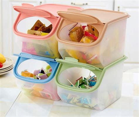 Lucky Baby Box It Food Container Storage rice plastic cups reviews shopping rice plastic
