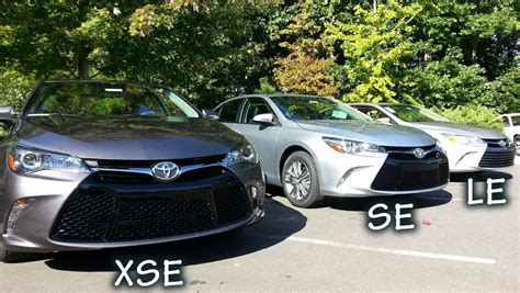 Toyota Le Vs Se Comparing 2015 Camry Models How To Your Trim Level