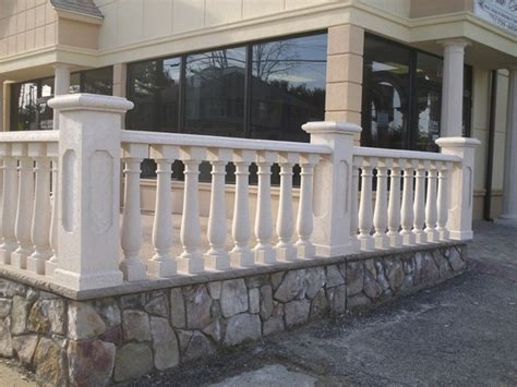 Exterior Balustrade Concrete Balustrade Traditional Exterior New York
