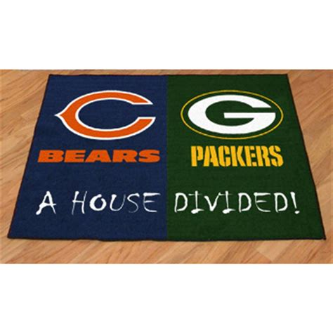 nfl house fanmats nfl house divided mat 176396 sports fan gifts at sportsman s guide