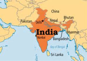 Map Of India And Surrounding Countries by Sharon S Love Of Books Brotherhood Dharma Destiny And