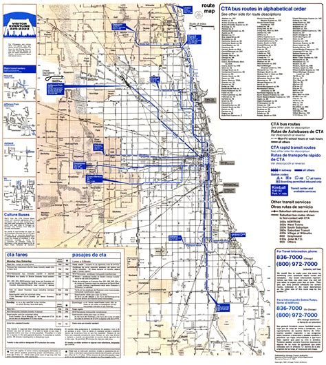 chicago el map chicago l org system maps route maps