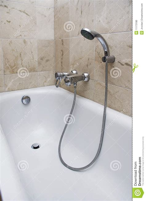 bath shower attachment bath with shower attachment stock photo image 11173180