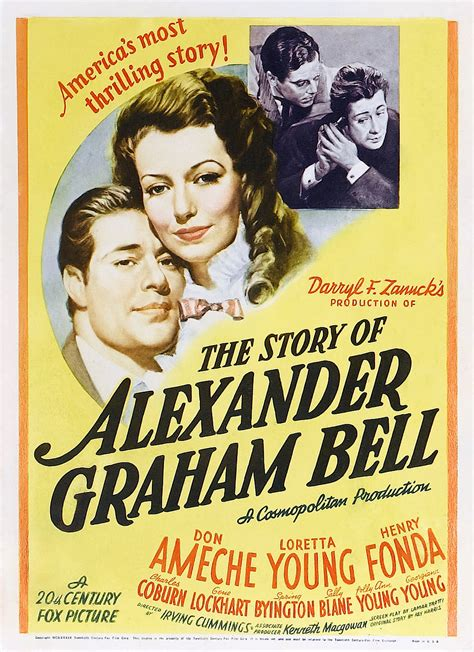 alexander graham bell biography movie story of alexander graham bell the