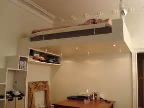 Diy Loft Bed Small Space Solution Design Loft Bed Creatiolista