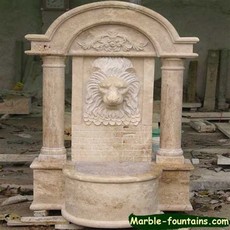 fountain backyard marble fountains marble balusters factory price free shipping