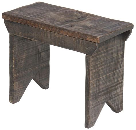 low wooden bench small rustic bench from dutchcrafters amish furniture