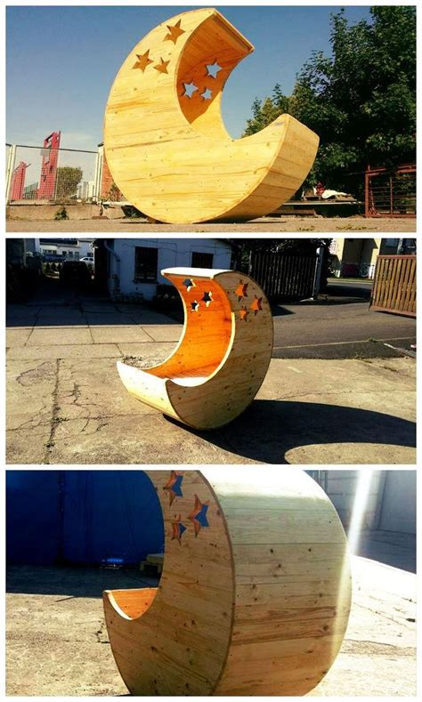Pallet Crib Moon Shaped Baby - 17 best ideas about baby moon on baby room