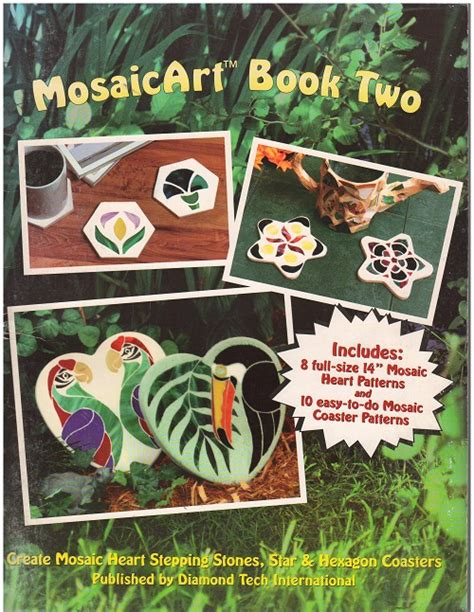 mosaic pattern books sunlight art glass supplies for mosaics and stepping