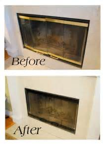 paint brass fireplace doors fireplace doors on